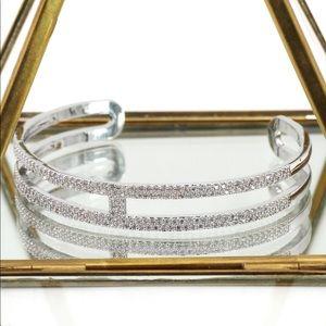 Ocean Fashion Jewelry - Fashion silver micro crystal bracelet